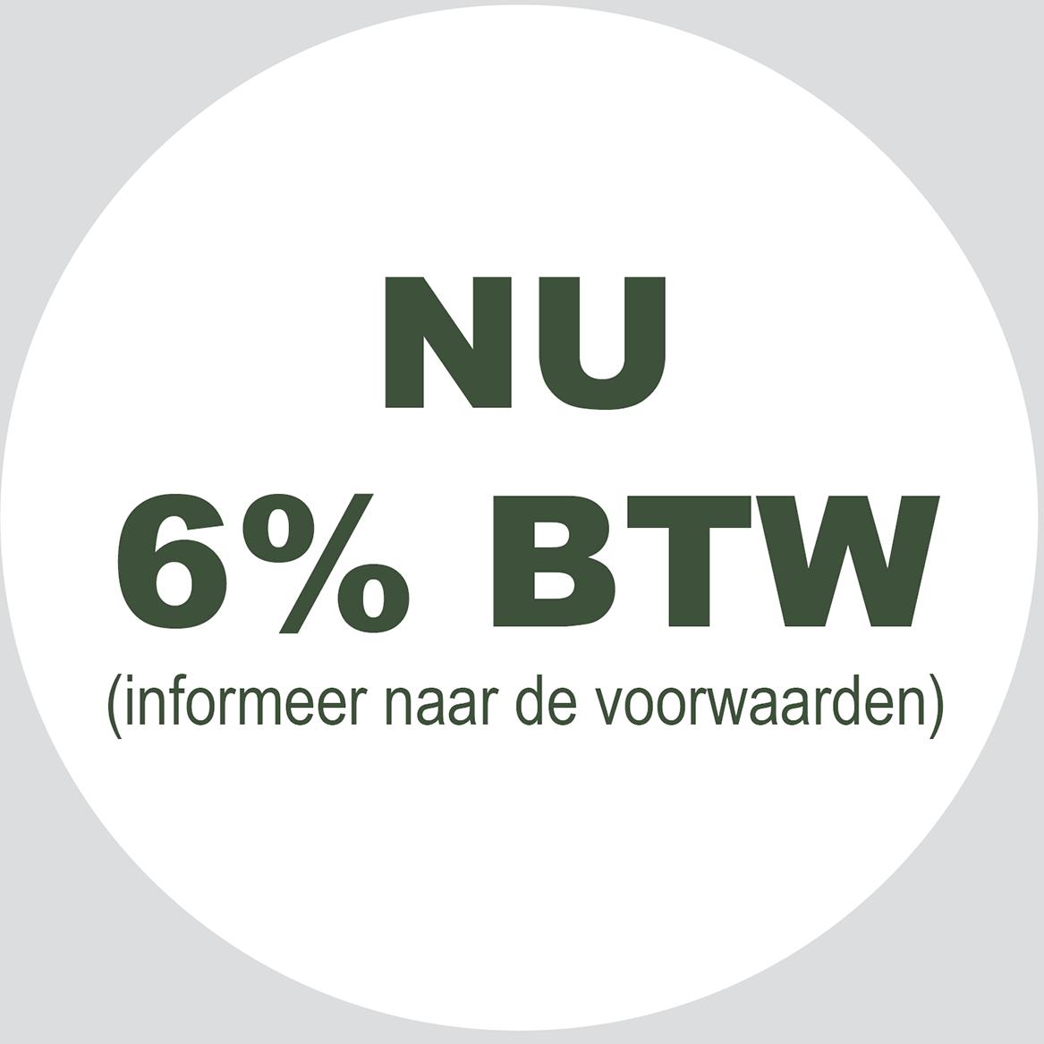 Nu 6% btw